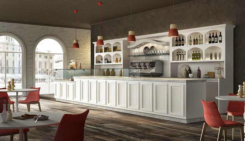 Banco bar epoque degart arredamento progettazione bar for Arredo bar napoli