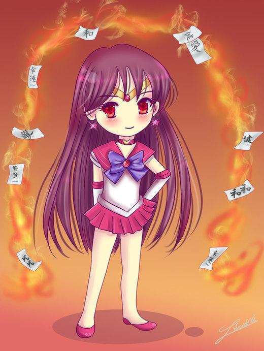 Chibi Sailor Mars por Nawal