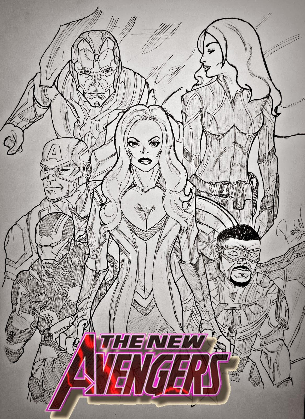 New Avengers SPOILER ALERT | Mr. Pencilmaniac