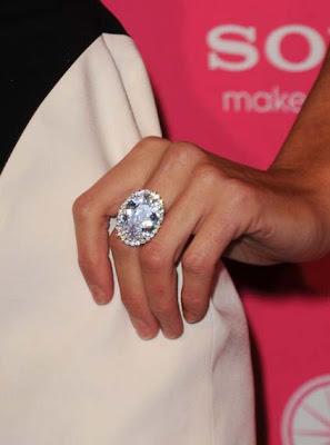 Paris Hilton Diamond Ring
