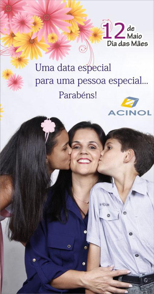 Campanha ACINOL Dia das Mães / Foto: Sidney de Almeida
