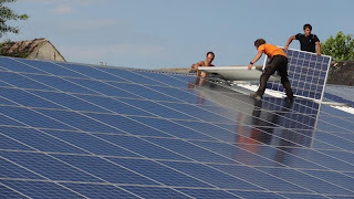 Mounting Solar Panels in Germany