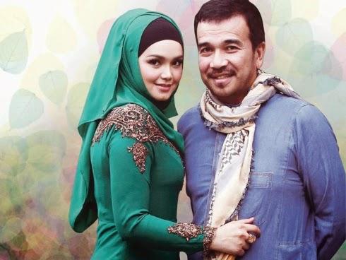 Gambar romantik Siti Nurhaliza dan Datuk K atas batang pokok