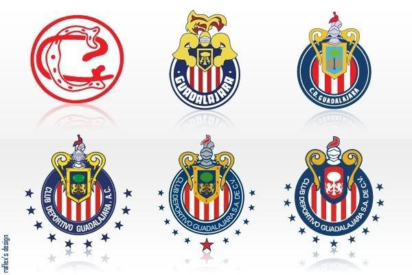 Escudos de todos los equipos de fútbol mexicano Mil