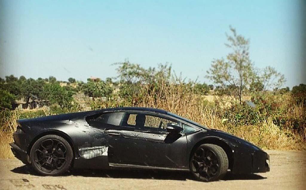 Lamborghini Huracan 233 O Nome Do Sucessor Do Gallardo Car