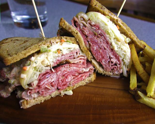 reuben sandwich rachel pastrami