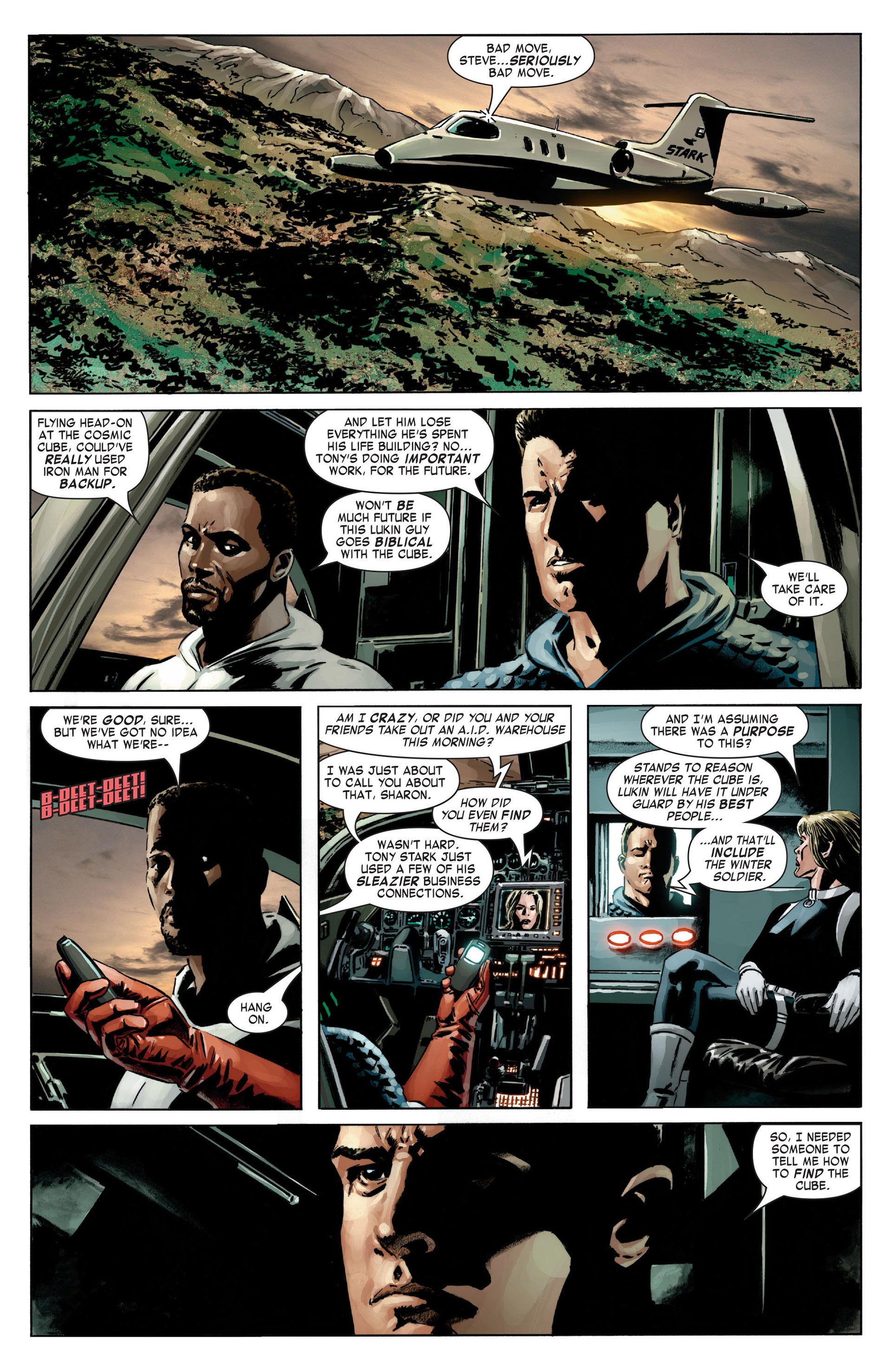 Captain America (2005) Issue #13 #13 - English 19