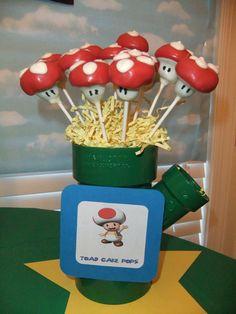 Cacke Pops de Mario Bros