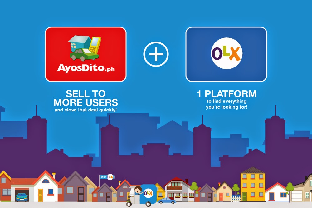 AyosDito.ph Merges with OLX.ph to Form a Big Classified Ads Website