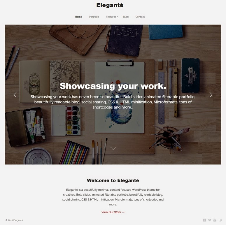 Simple and Clean Responsive WordPress Theme