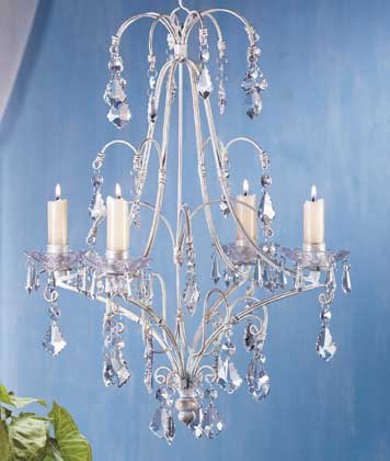 Iron Candle Chandeliers: hanging candle chandelier non electric