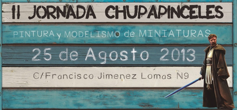 II Jornada Chupapinceles 25 Agosto