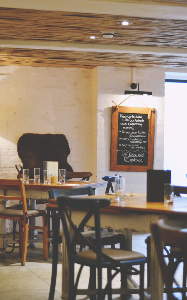 Interior of River Cottage Canteen Winchester