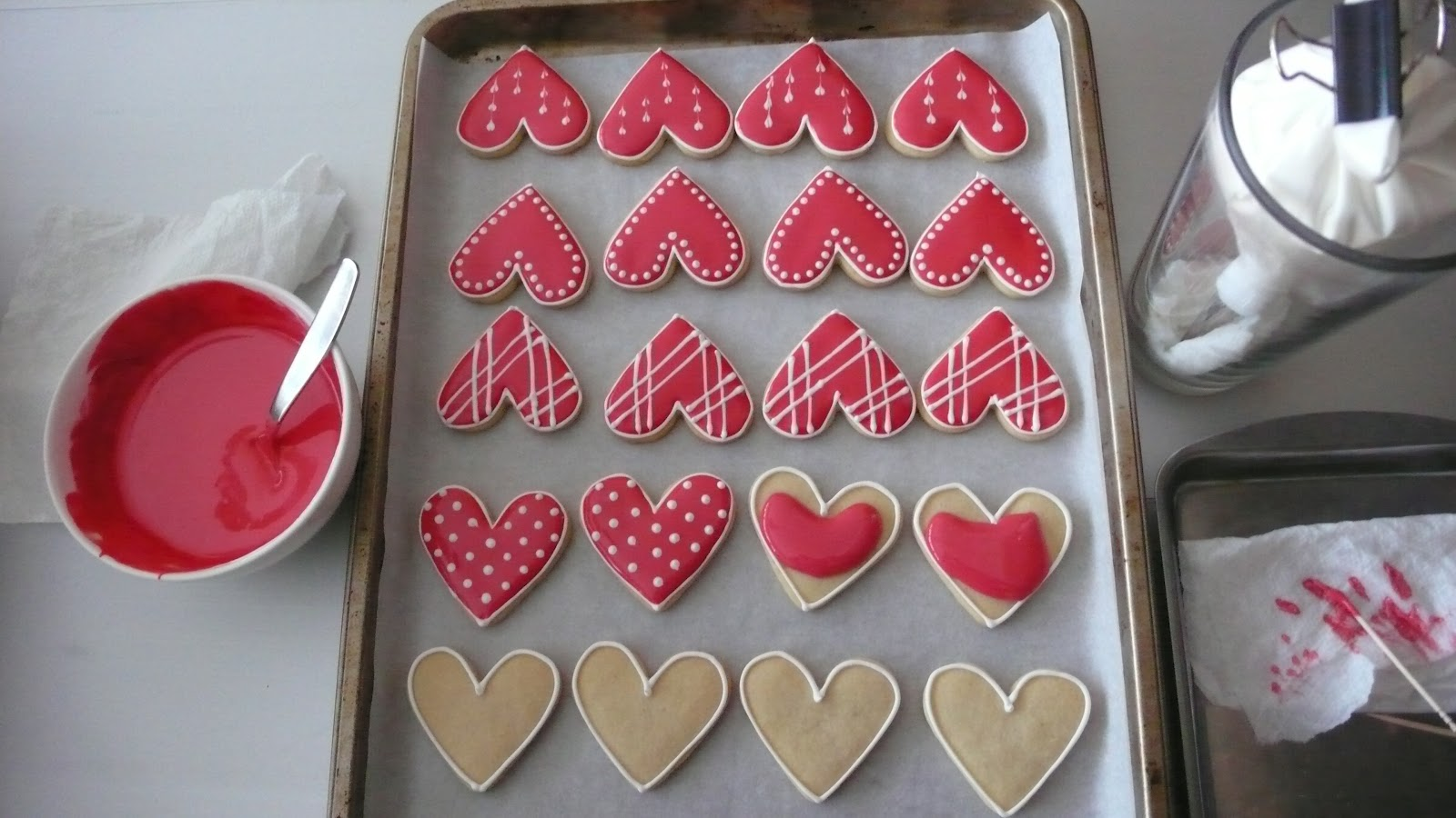 valentines day sugar cookies decorating tips 5 of 7 days of sweets