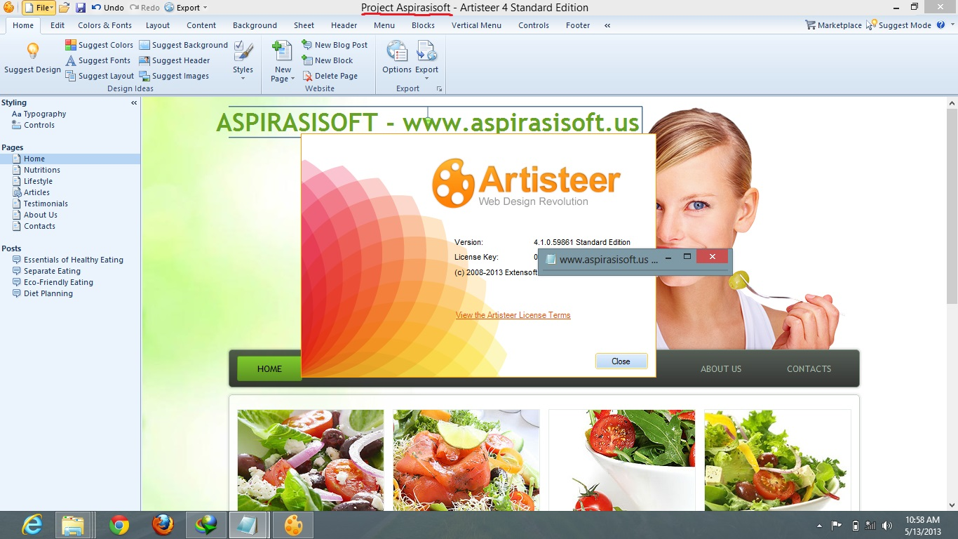 artisteer 4 crack serial keygen