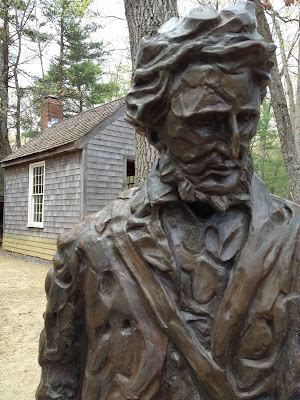 Thoreau at Walden Pond