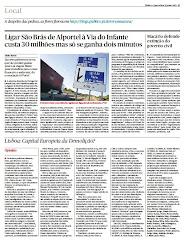 """Artigo """"Lisboa, Capital Europeia da Demolição?"""""""