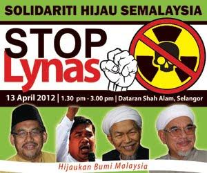 HIMPUNAN STOP LYNAS : SOLIDARITI HIJAU SEMALAYSIA