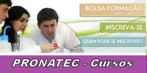 Cursos gratuitos Pronatec