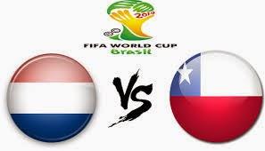 Prediksi Skor Pertandingan Belanda vs Chile 23 Juni 2014, Piala Dunia