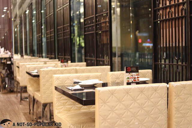 Lugang Cafe Interior in Mall of Asia