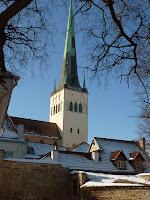 Eglise St Olav a Tallinn
