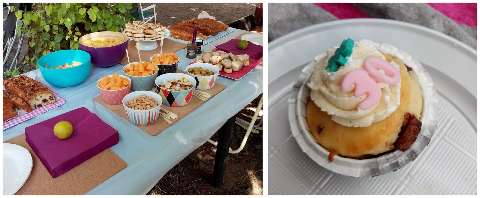 anniversaire, cupcake, bullelodie