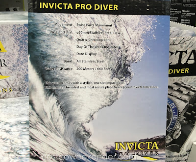 Invicta Pro Diver Men's Watch sleek and modern looking