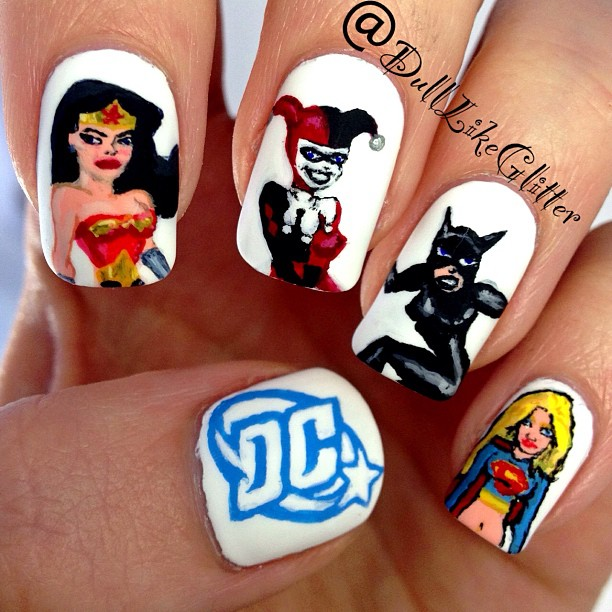 My Top 10 And Top 5 Nail Artists Who: Saving The World One Nail At A Time: My Top 10 Nail Art