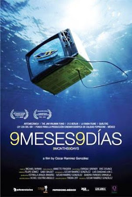 9 meses, 9 días (2009). poster pelicula movie