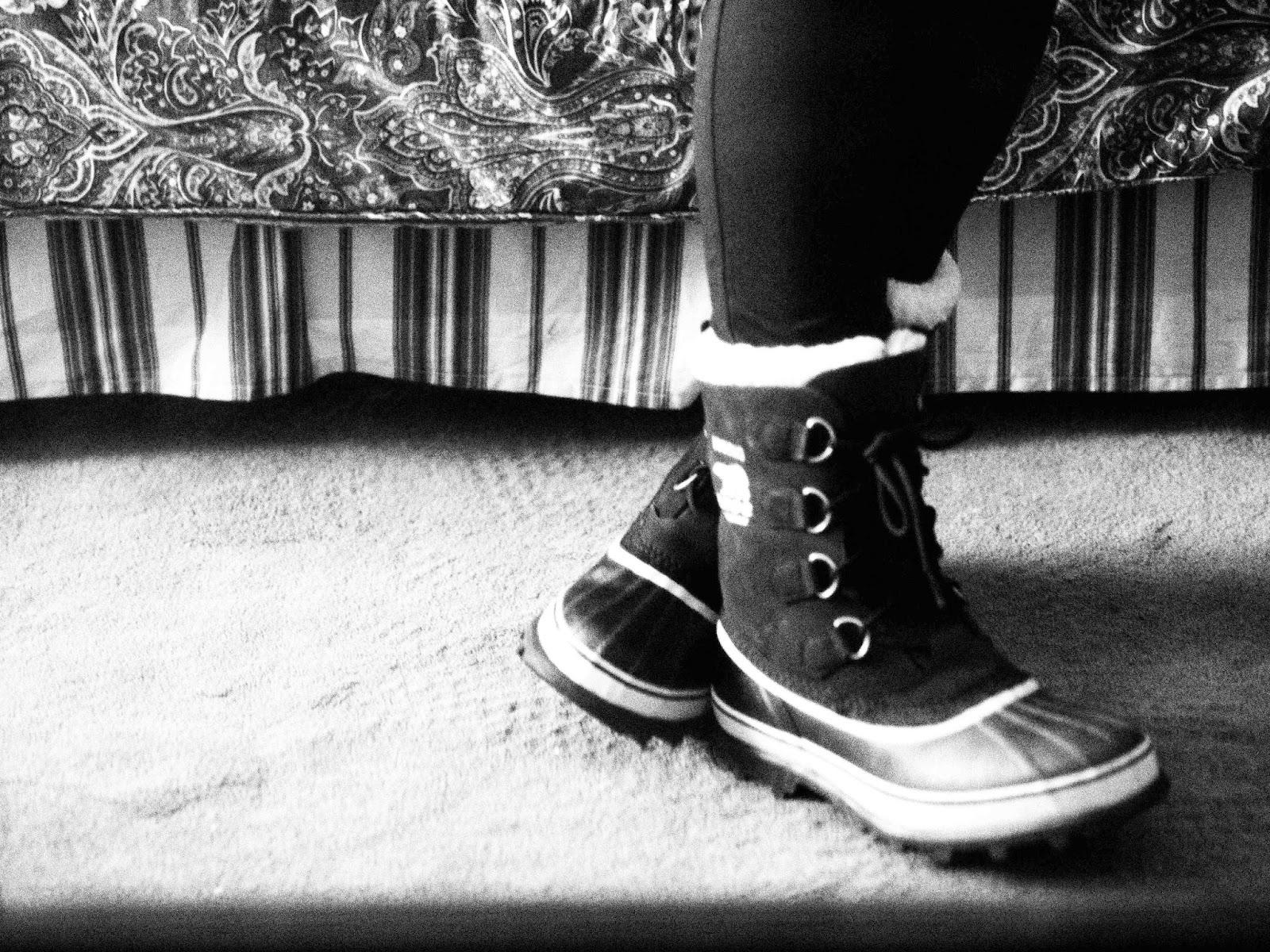 Sorel Caribou Boots Black