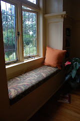 Cosy built-in window seats