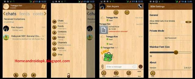 Download BBM Mod Themes Windows Phone Wood v Download BBM Mod Themes Windows Phone Wood v2.10.0.35 Apk
