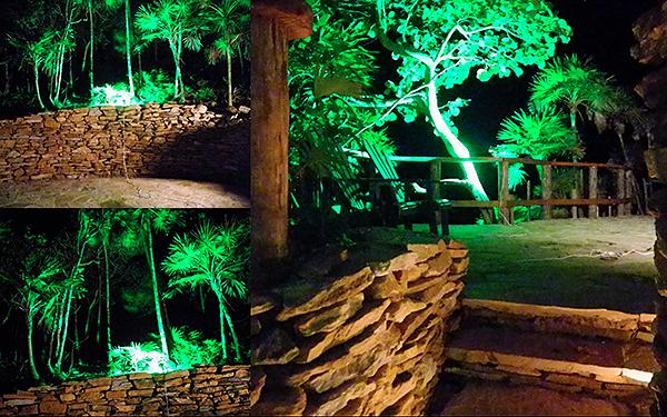 Weu0027re working on the lighting of The Black Iguana beach bar. Itu0027s all looking pretty spectacular! & My Roatan - Adventures in Creating Nirvana: lighting the black iguana azcodes.com