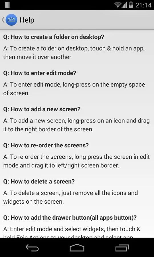 Epic Launcher (KitKat) Prime v1.2.1