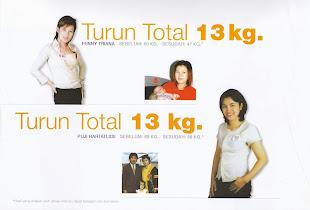 TURUN BERAT BADAN 13 KG