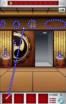 100 Floors World Tour Japan Level 1 2 3 4 5 Solve