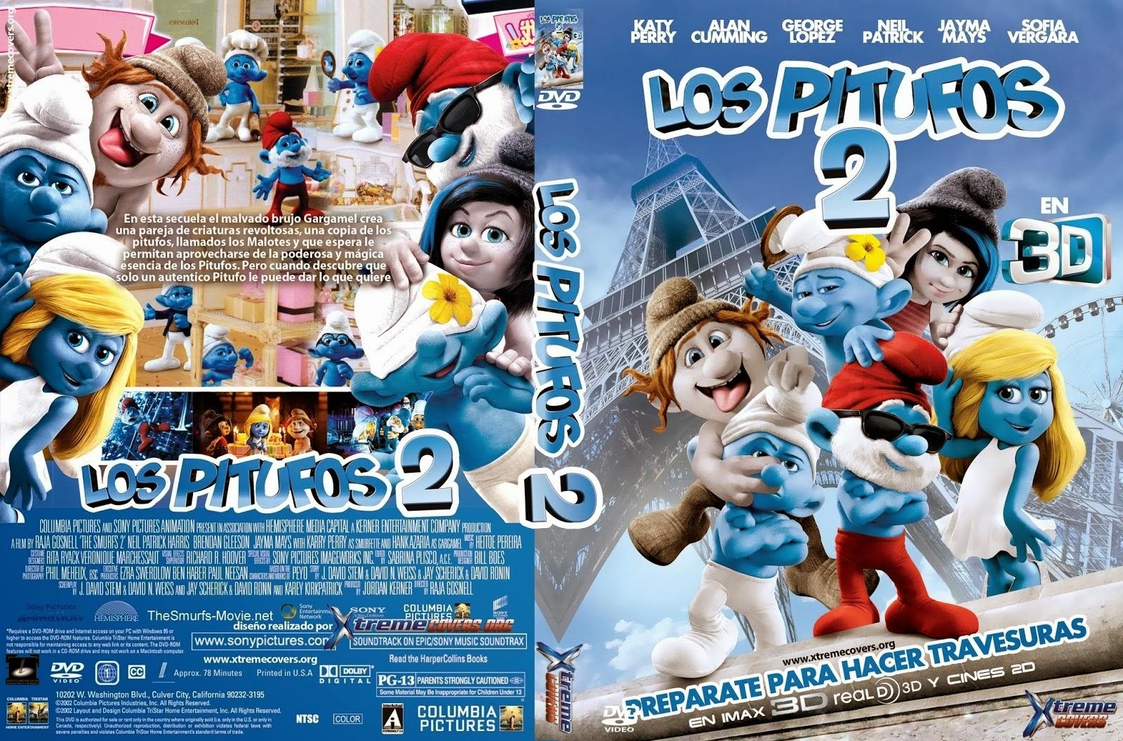 Los Pitufos 2 Hdrip Castellano 2013