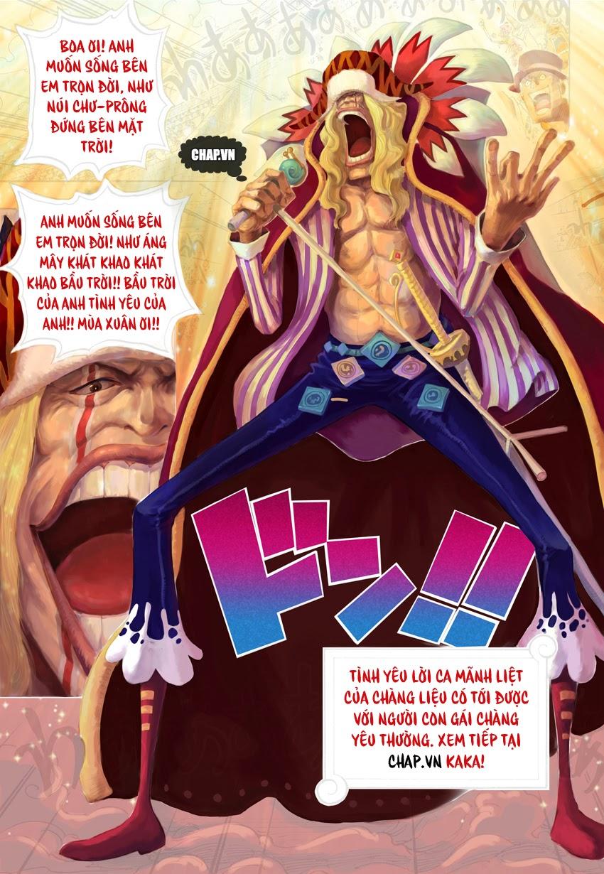 One Piece Chapter 737: Tháp điều hành 020