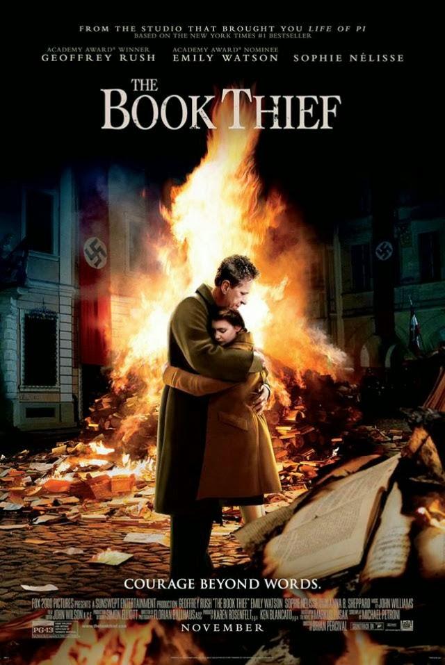 La película The Book Thief ( La ladrona de libros )