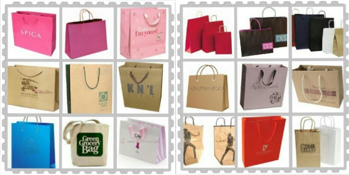 Be Smile Production - Sample Paper bag & Shopping bag