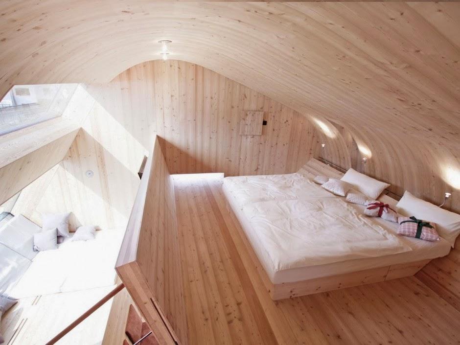 Gambar Desain Rumah Panggung Kayu Model Minimalis Sederhana 21