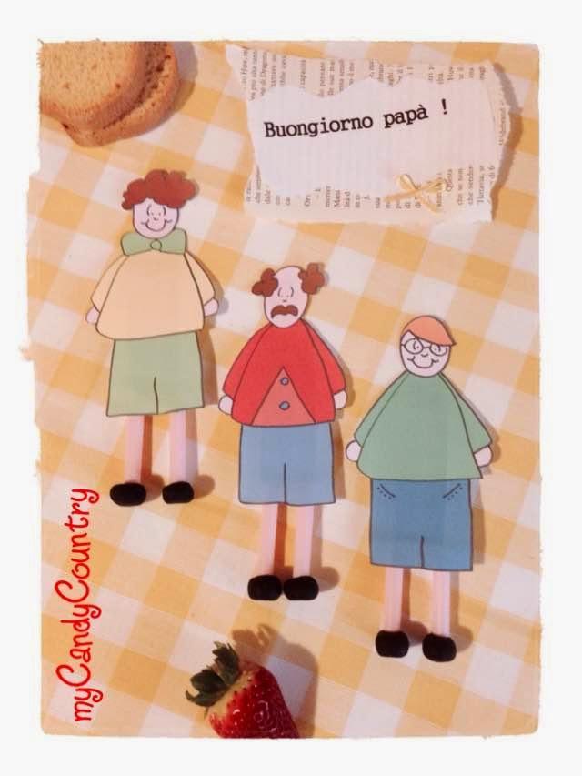 Idee regalo per la Festa del Papà carta e cartone Festa del papà fai da te regali fai da te