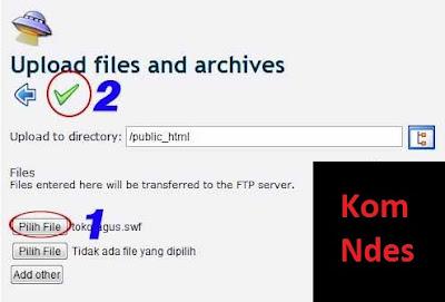 Cara Upload File .Html di IDHOSTINGER (Untuk Like Fanpage Dari Youlikehits)