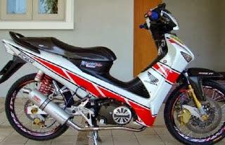 Modifikasi Motor Honda Supra X 125 cc
