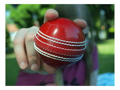 Cricket Ball ~ HD Wallpaper
