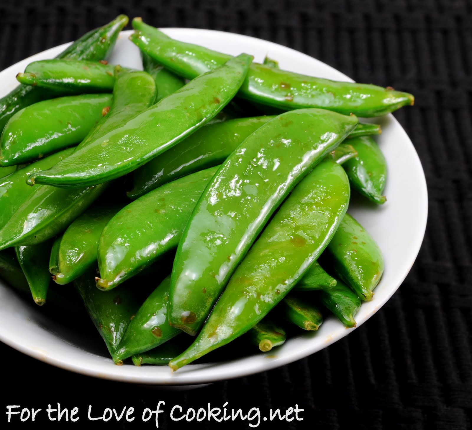 snap peas sugar snap peas with sesame sugar snap peas with soy i saw a ...