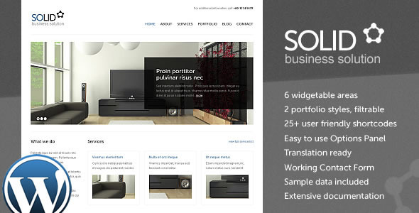 Image for Solid WP – Corporate / Business Theme by ThemeForest