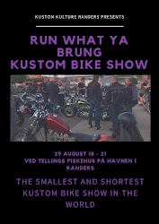 Run What Ya Brung - Kustom Bike Show