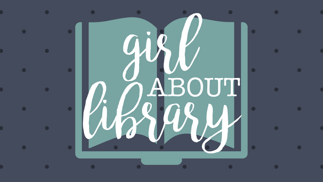 girl about library